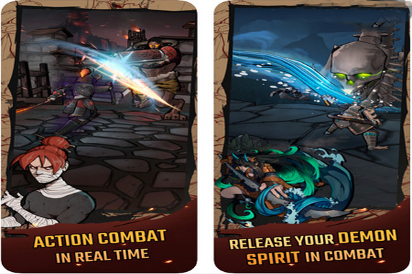tính năng game Demon Blade