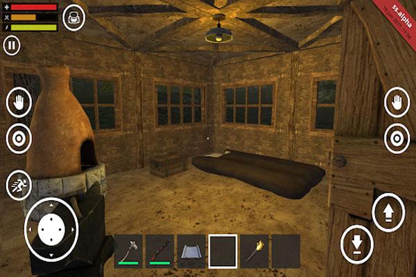 tính năng game Survival Simulator