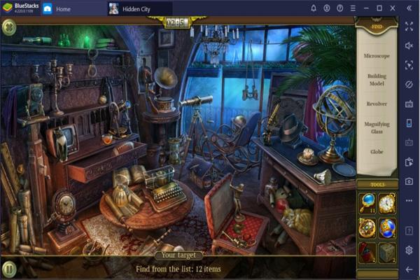 giới thiệu game Hidden City