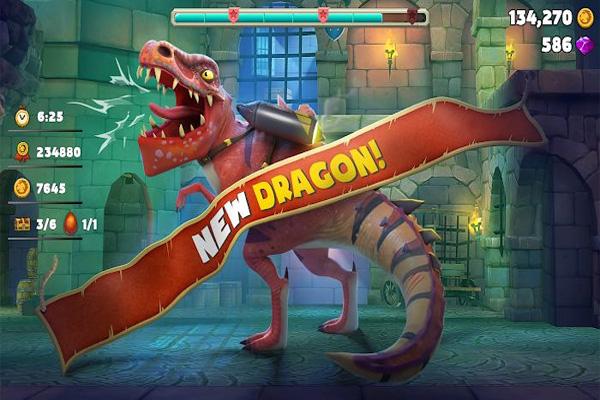 Hungry Dragon mod