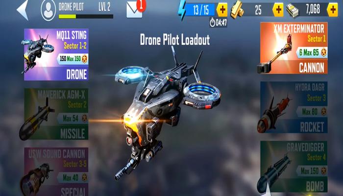 tải Drone 4: Zombie Strike mod