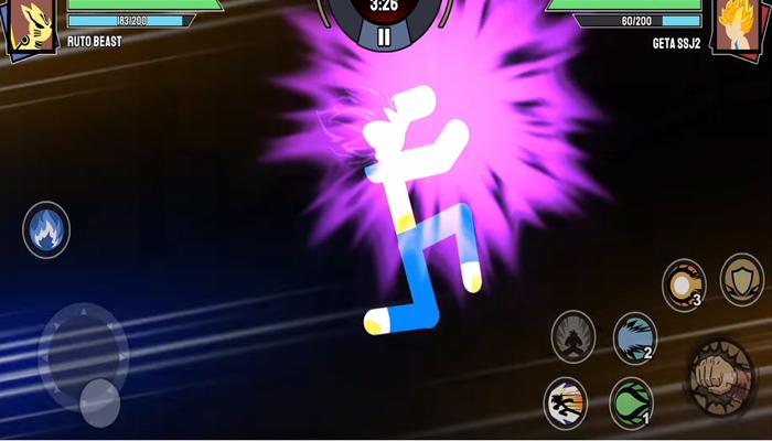 tải Stickman Warriors hack mod