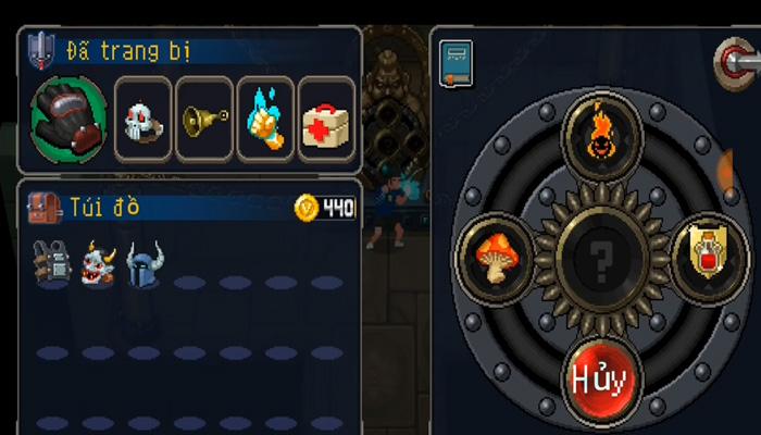 vũ khí trong game