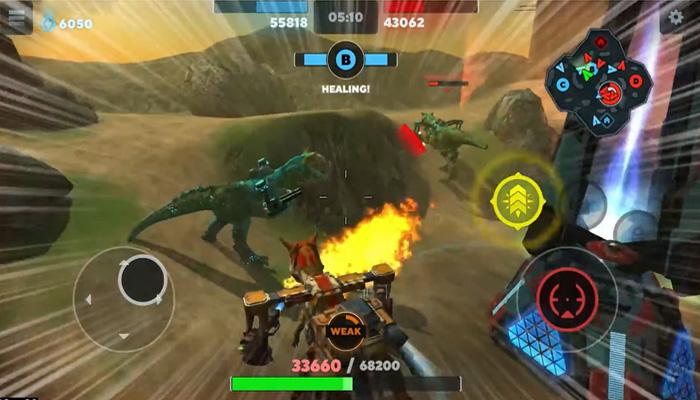 tải về Dino Squad hack mod