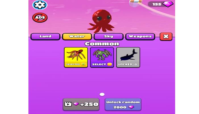 tải game Kaiju Run mod apk