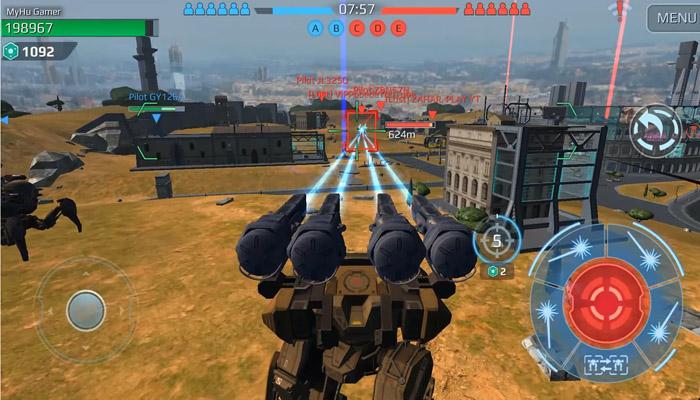 tải game War Robot mod apk